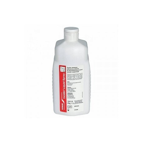 INCIDIN LIQUID SPRAY 1l plus INCIDIN LIQUID SPRAY 650 ml.plus SILONDA LIPID 100 ml ECOLAB2